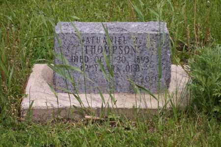 THOMPSON, NATHANIEL - Kingsbury County, South Dakota | NATHANIEL THOMPSON - South Dakota Gravestone Photos