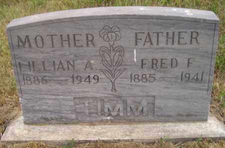 TIMM, LILLIAN A. - Kingsbury County, South Dakota   LILLIAN A. TIMM - South Dakota Gravestone Photos