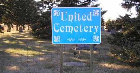 *UNITED, GATE - Kingsbury County, South Dakota | GATE *UNITED - South Dakota Gravestone Photos