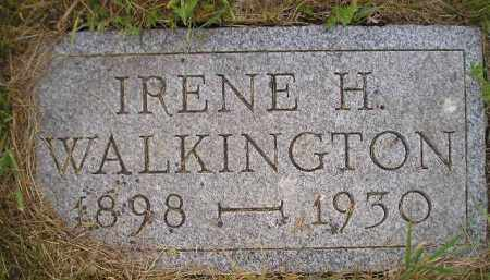 WALKINGTON, IRENE H. - Kingsbury County, South Dakota   IRENE H. WALKINGTON - South Dakota Gravestone Photos