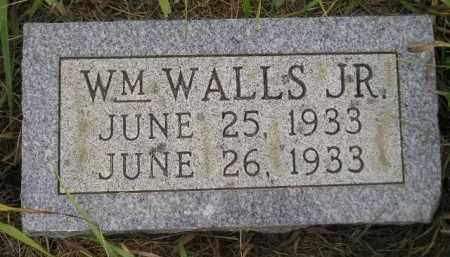 WALL, WM. JR. - Kingsbury County, South Dakota | WM. JR. WALL - South Dakota Gravestone Photos