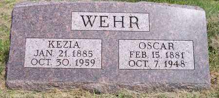 WEHR, OSCAR - Kingsbury County, South Dakota   OSCAR WEHR - South Dakota Gravestone Photos