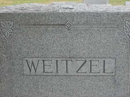 WEITZEL, FAMILY STONE - Kingsbury County, South Dakota   FAMILY STONE WEITZEL - South Dakota Gravestone Photos