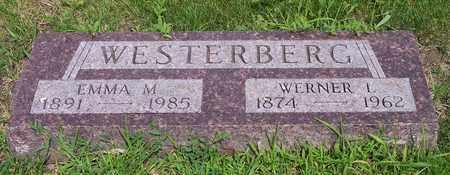 WESTERBERG, EMMA M - Kingsbury County, South Dakota   EMMA M WESTERBERG - South Dakota Gravestone Photos