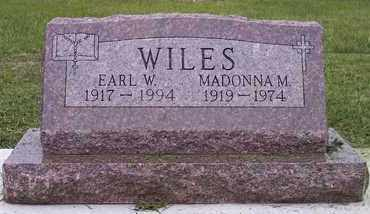 ROUNDS WILES, MADONNA M - Kingsbury County, South Dakota | MADONNA M ROUNDS WILES - South Dakota Gravestone Photos