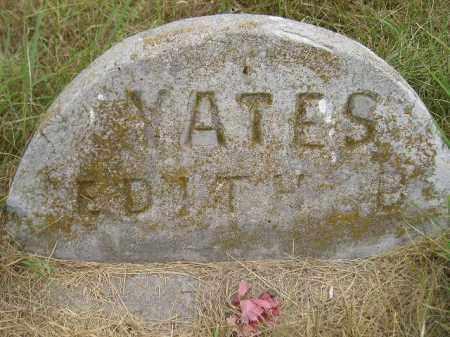 YATES, EDITH B. - Kingsbury County, South Dakota | EDITH B. YATES - South Dakota Gravestone Photos