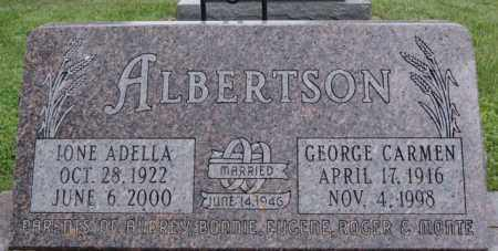 ALBERTSON, GEORGE CARMEN - Lake County, South Dakota | GEORGE CARMEN ALBERTSON - South Dakota Gravestone Photos