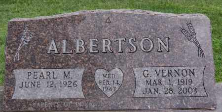 ALBERTSON, PEARL M - Lake County, South Dakota | PEARL M ALBERTSON - South Dakota Gravestone Photos