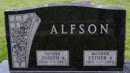 ALFSON, JOSEPH A - Lake County, South Dakota | JOSEPH A ALFSON - South Dakota Gravestone Photos