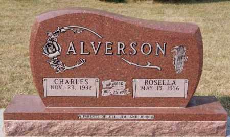 ALVERSON, ROSELLA - Lake County, South Dakota | ROSELLA ALVERSON - South Dakota Gravestone Photos