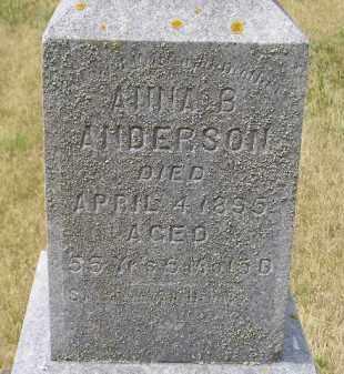 ANDERSON, ANNA B. - Lake County, South Dakota | ANNA B. ANDERSON - South Dakota Gravestone Photos
