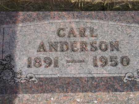 ANDERSON, CARL - Lake County, South Dakota   CARL ANDERSON - South Dakota Gravestone Photos