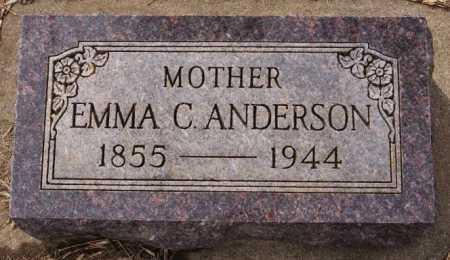 ANDERSON, EMMA C - Lake County, South Dakota | EMMA C ANDERSON - South Dakota Gravestone Photos