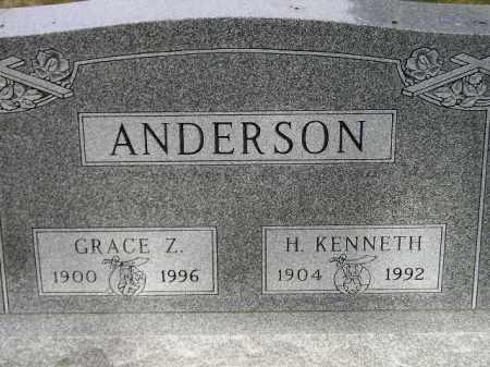 ANDERSON, H. KENNETH - Lake County, South Dakota | H. KENNETH ANDERSON - South Dakota Gravestone Photos