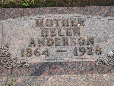 ANDERSON, HELEN - Lake County, South Dakota   HELEN ANDERSON - South Dakota Gravestone Photos