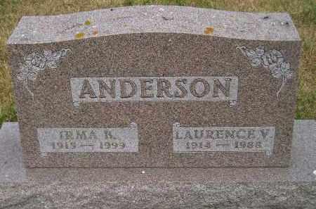 ANDERSON, LAURENCE V. - Lake County, South Dakota | LAURENCE V. ANDERSON - South Dakota Gravestone Photos