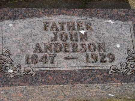 ANDERSON, JOHN - Lake County, South Dakota | JOHN ANDERSON - South Dakota Gravestone Photos