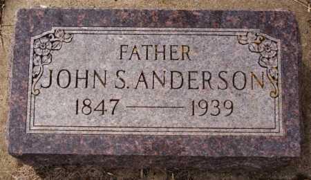 ANDERSON, JOHN S - Lake County, South Dakota   JOHN S ANDERSON - South Dakota Gravestone Photos