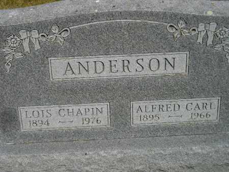 ANDERSON, ALFRED CARL - Lake County, South Dakota | ALFRED CARL ANDERSON - South Dakota Gravestone Photos