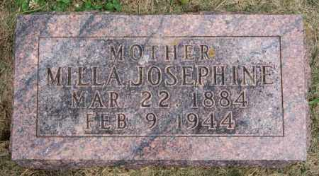 BAKKE, MILLA JOSEPHINE - Lake County, South Dakota | MILLA JOSEPHINE BAKKE - South Dakota Gravestone Photos