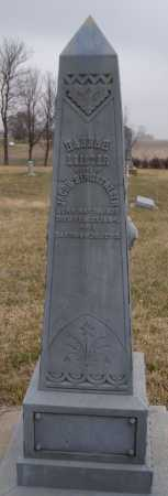 LEISTER BERGSTRESER, HANNAH - Lake County, South Dakota   HANNAH LEISTER BERGSTRESER - South Dakota Gravestone Photos