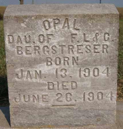 BERGSTRESER, OPAL - Lake County, South Dakota | OPAL BERGSTRESER - South Dakota Gravestone Photos