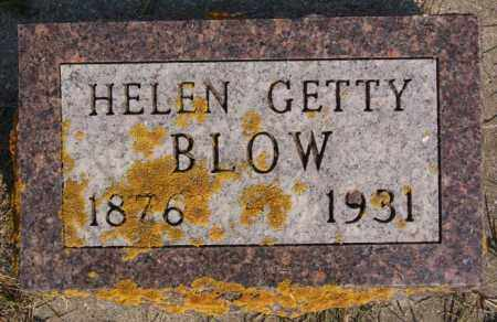 BLOW, HELEN - Lake County, South Dakota | HELEN BLOW - South Dakota Gravestone Photos