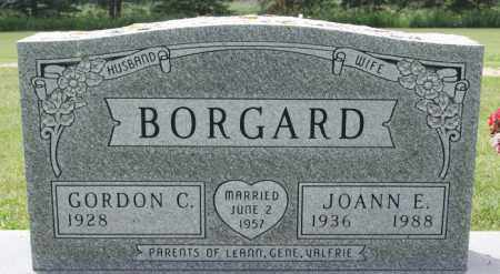 BORGARD, GORDON C - Lake County, South Dakota | GORDON C BORGARD - South Dakota Gravestone Photos