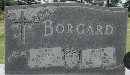 BORGARD, GUNDER - Lake County, South Dakota | GUNDER BORGARD - South Dakota Gravestone Photos