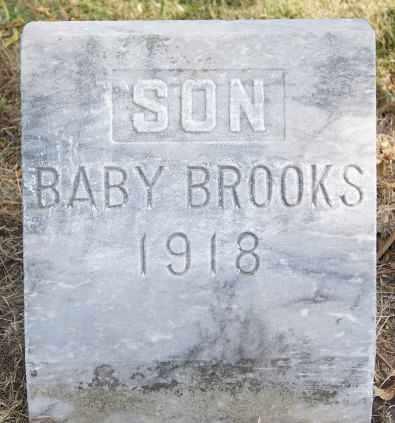 BROOKS, BABY - Lake County, South Dakota | BABY BROOKS - South Dakota Gravestone Photos