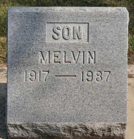 BROOKS, MELVIN - Lake County, South Dakota | MELVIN BROOKS - South Dakota Gravestone Photos