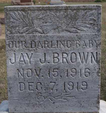 BROWN, JAY J - Lake County, South Dakota | JAY J BROWN - South Dakota Gravestone Photos
