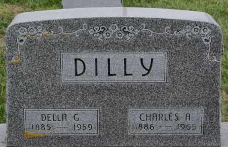 DILLY, CHARLES A - Lake County, South Dakota   CHARLES A DILLY - South Dakota Gravestone Photos