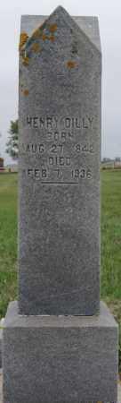 DILLY, HENRY - Lake County, South Dakota | HENRY DILLY - South Dakota Gravestone Photos