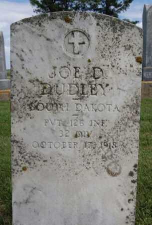 DUDLEY, JOE D (MILITARY) - Lake County, South Dakota | JOE D (MILITARY) DUDLEY - South Dakota Gravestone Photos