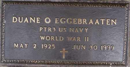EGGEBRAATEN, DUANE O (WWII) - Lake County, South Dakota | DUANE O (WWII) EGGEBRAATEN - South Dakota Gravestone Photos