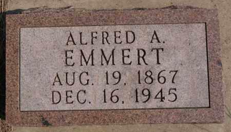 EMMERT, ALFRED A - Lake County, South Dakota   ALFRED A EMMERT - South Dakota Gravestone Photos