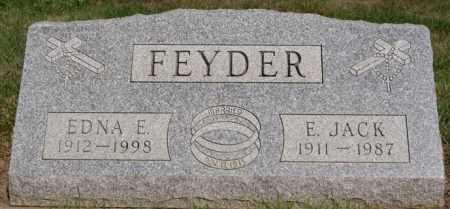 FEYDER, E JACK - Lake County, South Dakota | E JACK FEYDER - South Dakota Gravestone Photos