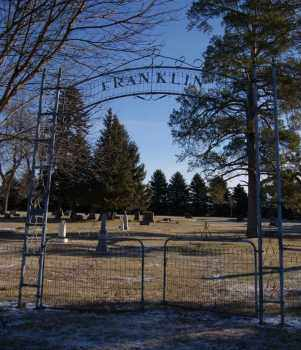 *FRANKLIN, FRONT GATE - Lake County, South Dakota | FRONT GATE *FRANKLIN - South Dakota Gravestone Photos