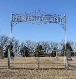 *PROSPECT, CEMETERY GATE - Lake County, South Dakota | CEMETERY GATE *PROSPECT - South Dakota Gravestone Photos