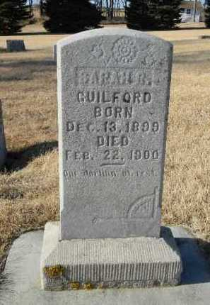 GUILFORD, SARAH R. - Lake County, South Dakota | SARAH R. GUILFORD - South Dakota Gravestone Photos