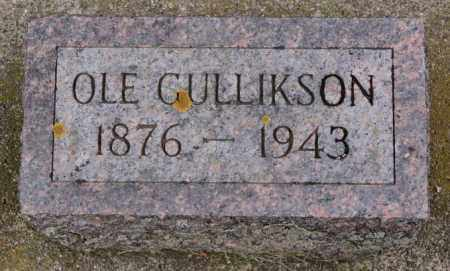 GULLIKSON, OLE - Lake County, South Dakota | OLE GULLIKSON - South Dakota Gravestone Photos