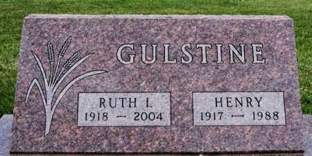 GULSTINE, HENRY - Lake County, South Dakota | HENRY GULSTINE - South Dakota Gravestone Photos