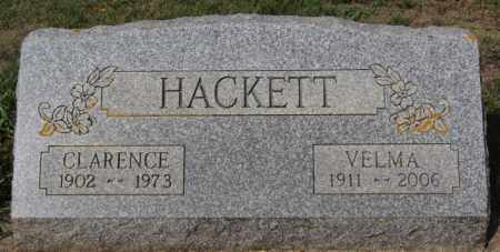 HACKETT, CLARENCE - Lake County, South Dakota | CLARENCE HACKETT - South Dakota Gravestone Photos