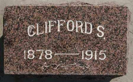 HALL, CLIFFORD S - Lake County, South Dakota   CLIFFORD S HALL - South Dakota Gravestone Photos