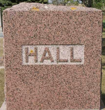 HALL, FAMILY MARKER - Lake County, South Dakota   FAMILY MARKER HALL - South Dakota Gravestone Photos
