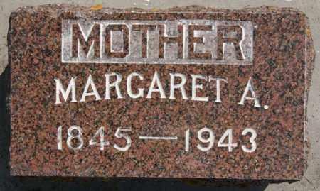 HALL, MARGARET A - Lake County, South Dakota | MARGARET A HALL - South Dakota Gravestone Photos