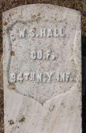 HALL, W S (MILITARY MARKER) - Lake County, South Dakota | W S (MILITARY MARKER) HALL - South Dakota Gravestone Photos