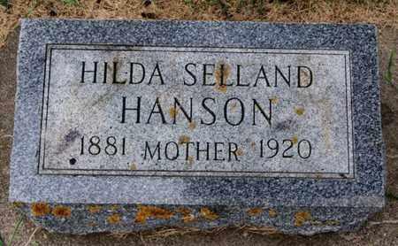 SELLAND HANSON, HILDA - Lake County, South Dakota | HILDA SELLAND HANSON - South Dakota Gravestone Photos
