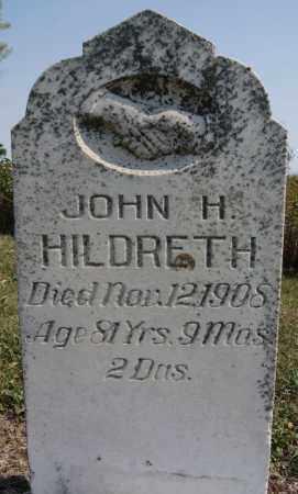 HILDRETH, JOHN H - Lake County, South Dakota | JOHN H HILDRETH - South Dakota Gravestone Photos